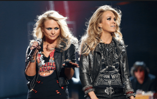 Awkward moment Carrie Underwood didn't know where Miranda Lambert was but WE did…