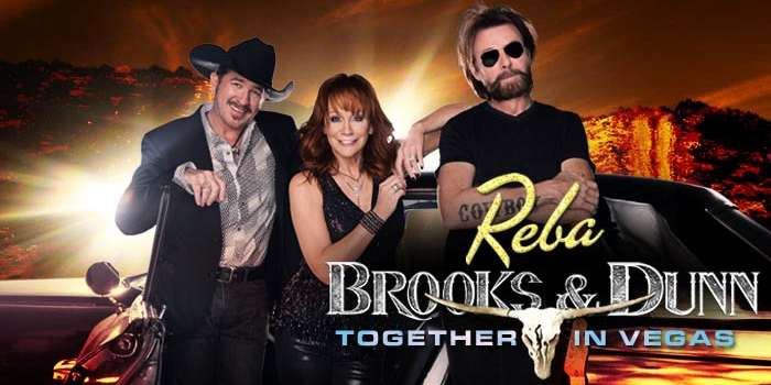 Take a behind-the-scenes look at Reba and Brooks&Dunn's Vegas show