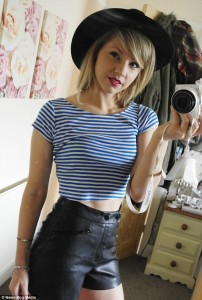 Rose as Taylor Swift