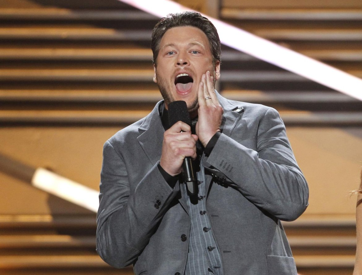 Blake Shelton's selling underwear now