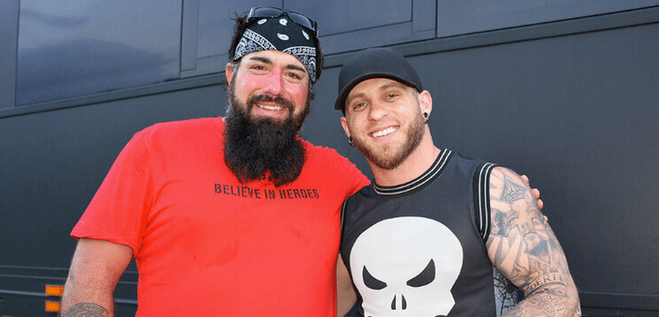 Brantley Gilbert Gives Back to Purple Heart Veteran