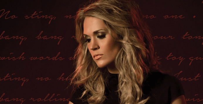 Carrie Underwood Comes Out Guns A'Blazing