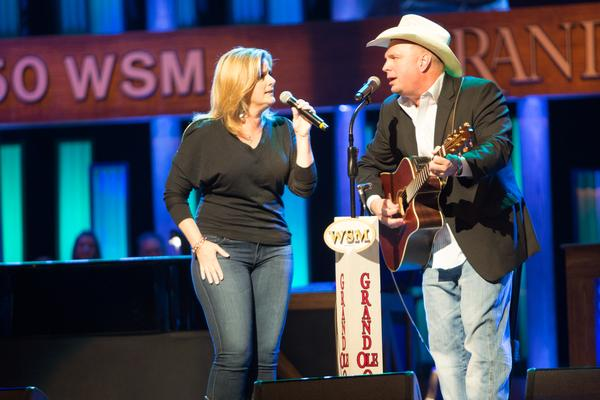 Garth & Trisha Surprise The Grand Ole Opry