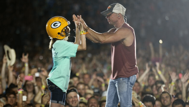 Kenny Chesney Is Full of Surprises