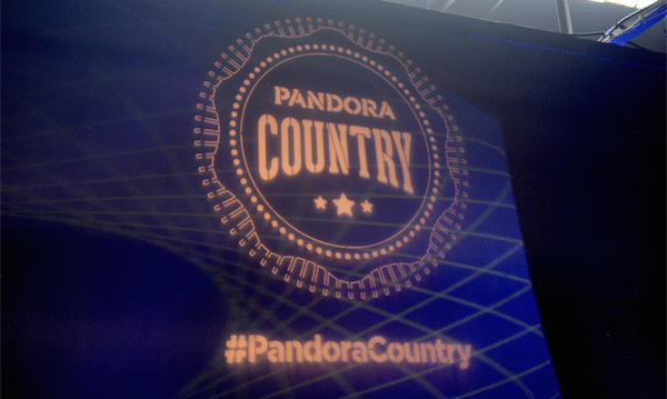 Pandora Country Gifts Nashville with Kelsea Ballerini, Dustin Lynch & Thompson Square Show