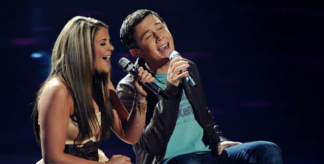 Scotty McCreery & Lauren Alaina Reunite at #CMAFest