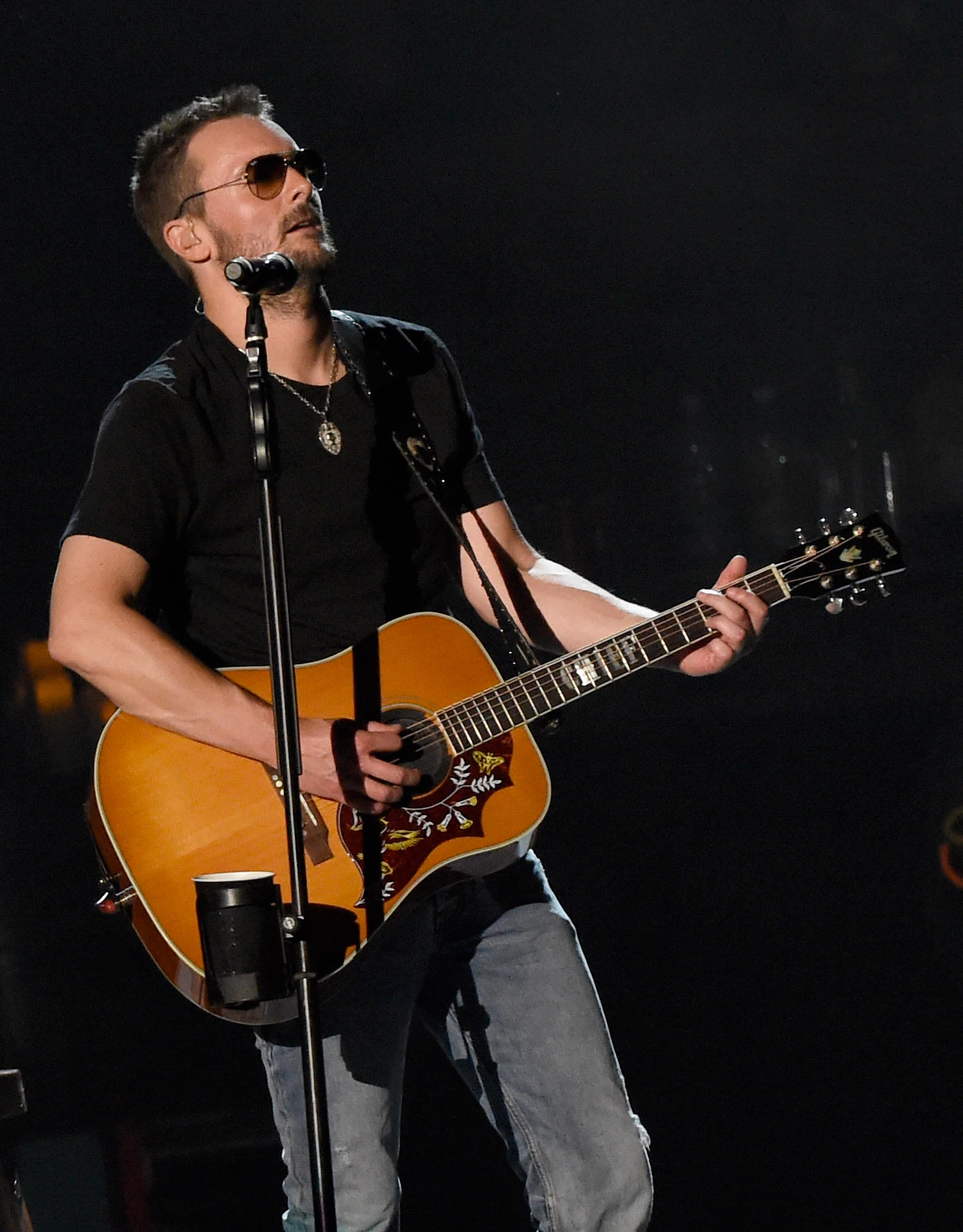 NASHVILLE, TN - JULY 30:  Singer/Songwriter Eric Church opens the new Ascend Amphitheater with the first of two sold out solo shows on July 30, 2015 in Nashville, Tennessee.  (Photo by Rick Diamond/Getty Images)