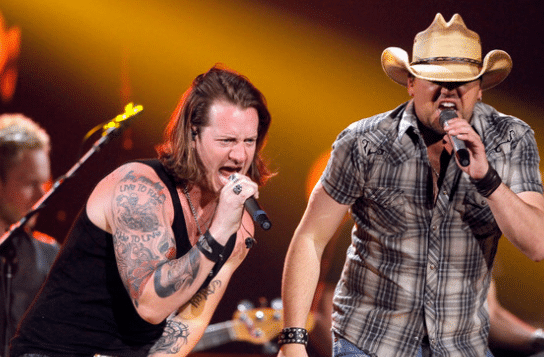 FGL's Tyler Hubbard is a fan of Jason Aldean's vocals…
