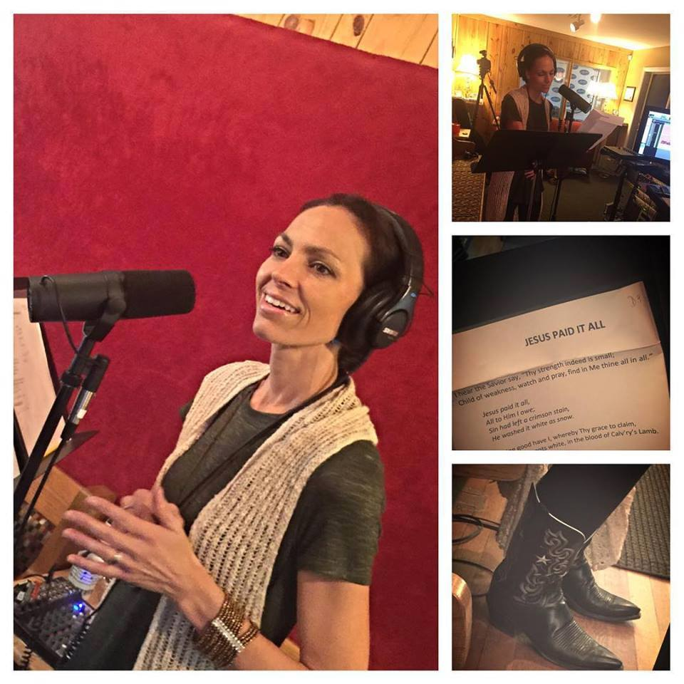 Joey and Rory back in the studio