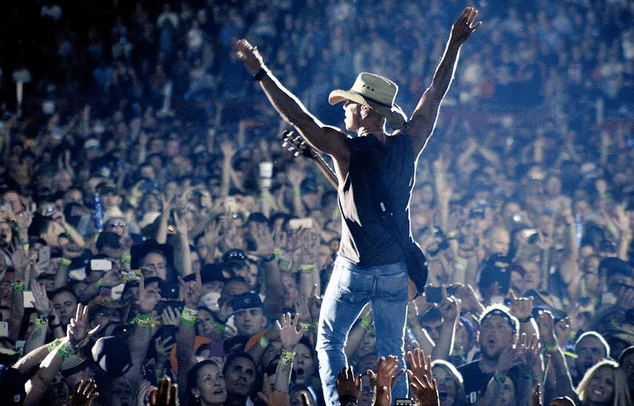 Move Over Tom Brady … Kenny Chesney Is Taking Your Town