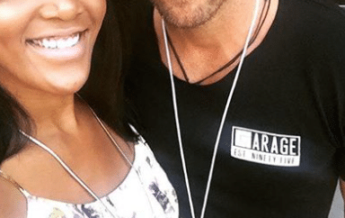 Mickey Guyton gets a visit from a sexy country singer…