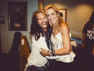 Steven Tyler and Sheryl Crow