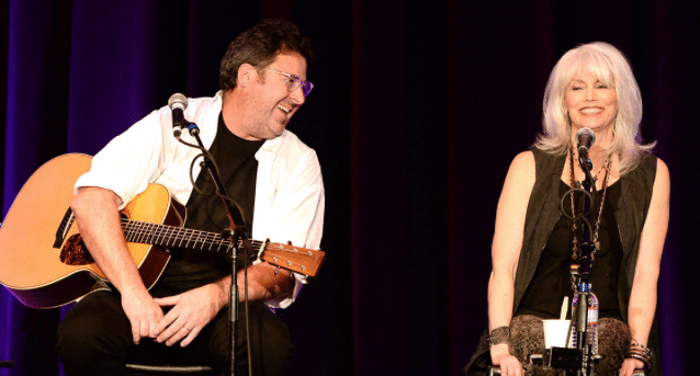 Why aren't Emmylou Harris and Vince Gill the talk of All For The Hall?