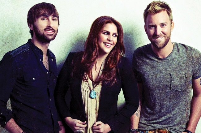 What is Lady Antebellum Listening To?