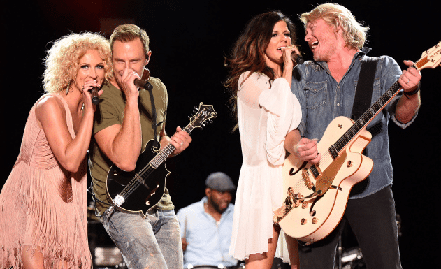 Little Big Town Shares Special Moment with Boys & Girls Club Students