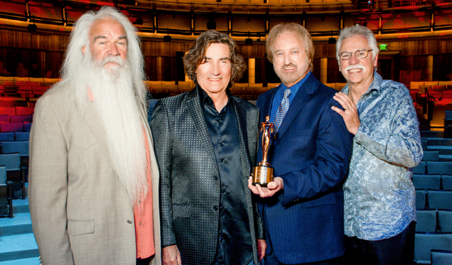 Congratulations to The Oak Ridge Boys on This Honor!
