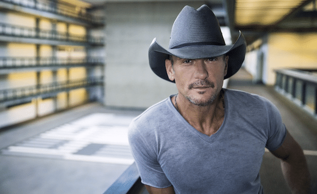 "Tim McGraw Premieres Personal ""Top of the World"" Lyric Video"
