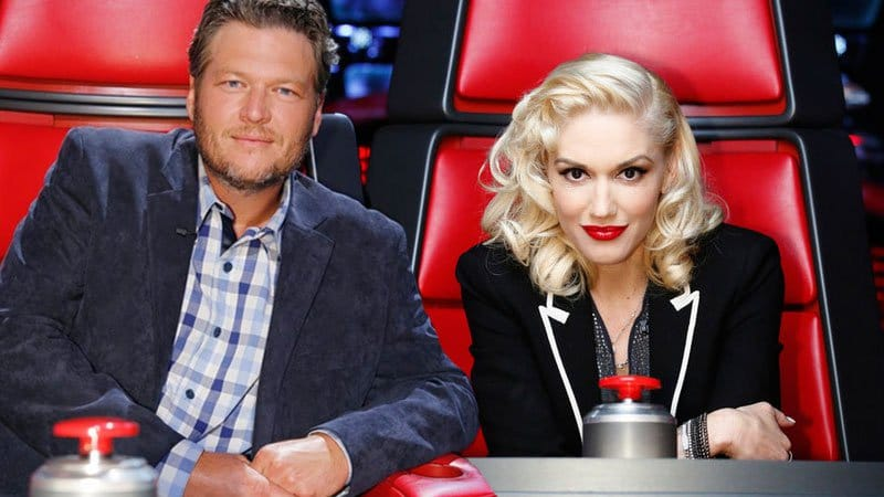 Gwen Stefani insists she didn't spill the beans on her relationship with Blake Shelton