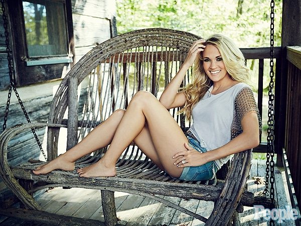 Carrie Underwood in people magazine
