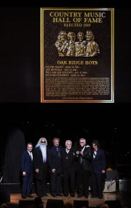 The Country Music Hall Of Fame Inducts New Members The Oak Ridge Boys, Jim Ed Brown And The Browns, And Grady Martin During 2015 Medallion Ceremony