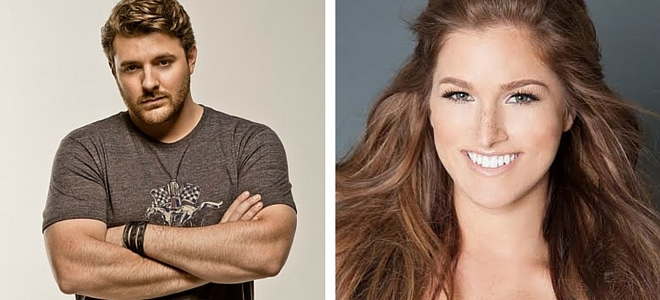 Chris Young & Cassadee Pope Head to Radio