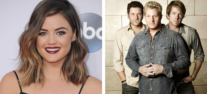 """You Will Hold Tight to This Lucy Hale & Rascal Flatts Duet of Frozen's """"Let It Go"""" (Listen!)"""