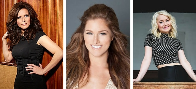 Pandora Radio Wants You to Know What Martina McBride, Cassadee Pope, & RaeLynn Are Listening To