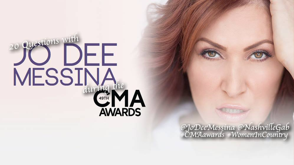Exclusive Event: Special Twitter Chat with Jo Dee Messina LIVE During the CMA Awards!