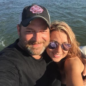 Chris Cagle and wife