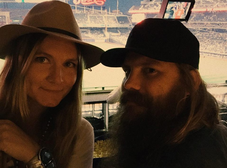 """Chris Stapleton and his wife sing """"You Are My Sunshine"""" in the most country way possible"""
