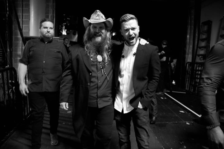 Justin Timberlake was a Chris Stapleton fan long before the CMA Awards