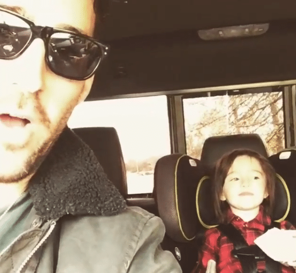 Jake Owen's daughter gets into the singing game