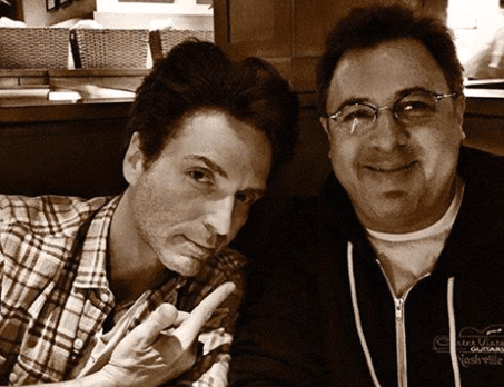 Vince Gill has a cool dinner date with a talented pal..