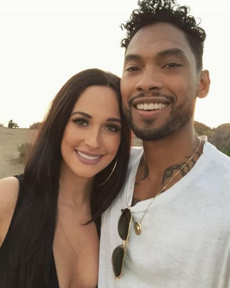 Kacey Musgraves STUNS on beach with singer Miguel
