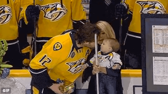 Carrie Underwood & Mike Fisher Share a Sweet Moment with Baby Isaiah