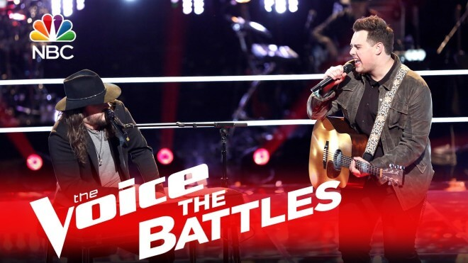 Adam Wakefield and Jared Harder Battle to Stay On Team Blake (Watch)