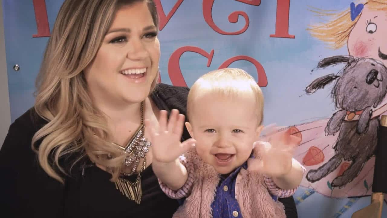 Kelly Clarkson's Little Girl Has a Crush…