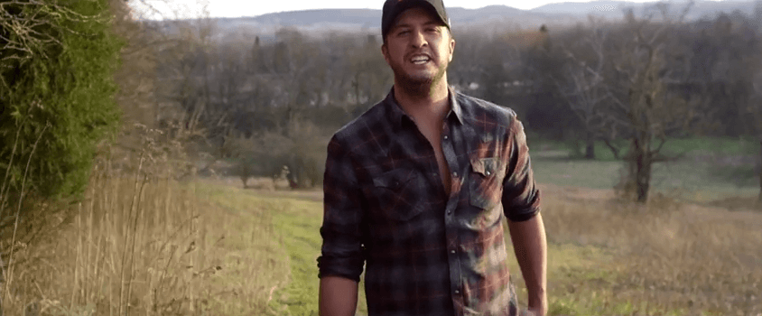 "Luke Bryan Premieres Video For ""Huntin', Fishin' and Lovin' Every Day"" Starring His Adorable Family"