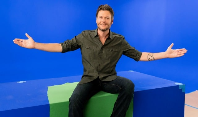 Blake Shelton Prepares Feast Fit For His Queen