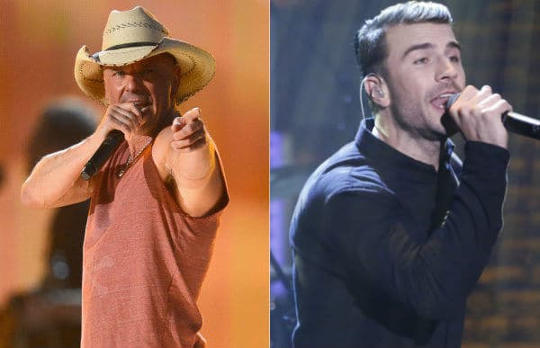 """Kenny Chesney and Sam Hunt Duet on """"Come Over"""""""