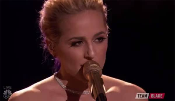 "Mary Sarah Raises The Bar With A ""The Voice"" First (Watch!)"
