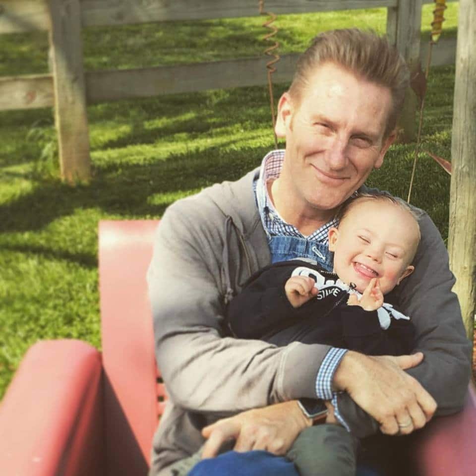 Joey and Rory Feek's daughter Indiana is walking … sort of