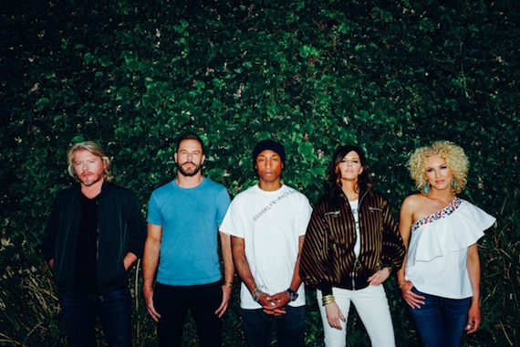 """Little Big Town Join Forces with Pharrell on New Album """"Wanderlust"""""""