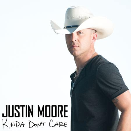 Justin Moore finds a tasty new way to celebrate album release