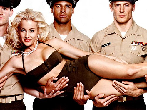Wow! Kellie Pickler is smoking hot in the pages of Maxim's special Salute to the Military 2012 issue