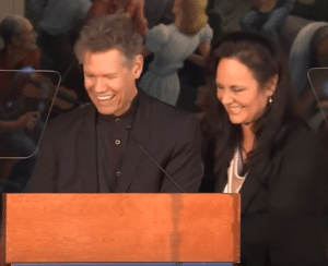 Randy Travis and Mary Davis Country Music Hall of Fame