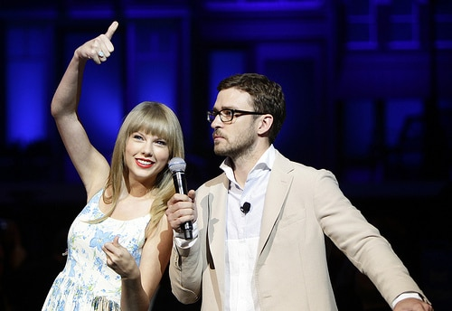 Taylor Swift with Justin Timberlake