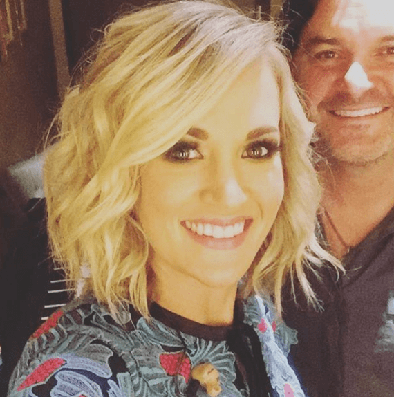Carrie Underwood shares a picture of herself at the Grand Ole Opry