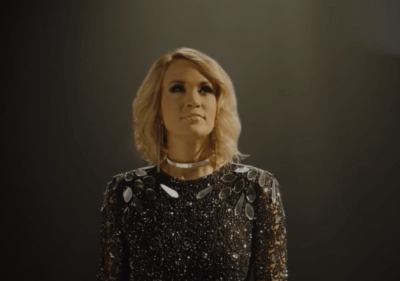 Carrie Underwood sneak peek of Sunday Night Football theme song
