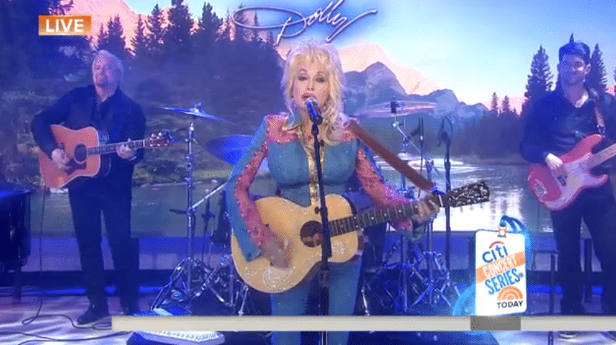 Watch Dolly Parton perform new song, 'Pure & Simple', on The Today Show